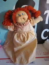 Cabbage Patch Doll Red Yarn Hair Blue Eyes with Tooth