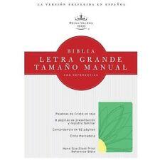 RVR 1960 Biblia Letra Grande Tamano Manual con Referencias,...