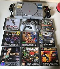 Sony playstation PS1 console + manettes + 11 Jeux + 2C.M