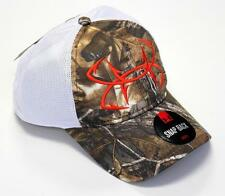 New Licensed Under Armour Camo Fish Hook Mesh Back Adjustable Fishing Hat BA