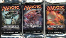 Magic Mtg Darksteel Factory sealed Booster Pack X 3 !
