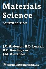 Materials Science Alexander, R.D. Rawlings and J.M., Leaver, J.C. Anderson  K.D