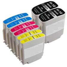 8 Compatible combo Set Ink cartridges for HP 10 11 for Inkjet 2250 1000