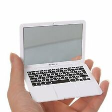 Mini Macbook Air Style Portable Mirror Apple Notebook Creative Make up Mirror