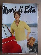 MANI DI FATA n°7 1960 con cartamodelli  [C59]