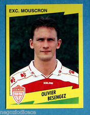 FOOTBALL 98 BELGIO Panini -Figurina-Sticker n. 279 - BESENGEZ -EXC MOUSCRON-New