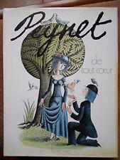PEYNET : DE TOUT COEUR - EDITIONS HOËBEKE 1987