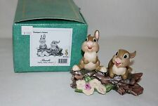 """WDCC ~ BAMBI ~ """"Hello Hello There"""" ~THUMPER'S SISTERS~ DISNEY CLASSIC COLLECTION"""