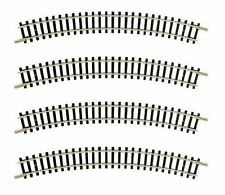 22225 Fleischmann Model Railway Curved 15 Degree Radius R4 Track N Gauge (x4)