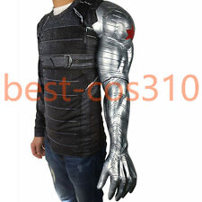 Captain America3 Civil War Cosplay Winter Soldier Bucky Barnes Armor Arm For Man