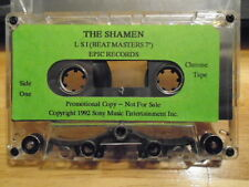 "RARE PROMO The Shamen CASSETTE TAPE L S I BeatMasters 7"" BOSS DRUM Scotland 1992"