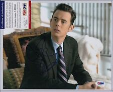COLIN HANKS SIGNED AUTOGRAPH AUTO 8X10 PSA DNA CERTIFIED