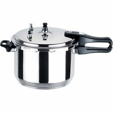 7 LITRE PRESSURE COOKER ALUMINIUM 7L KITCHEN CATERING HOME BRAND NEW