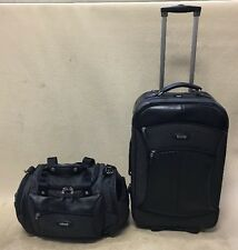"Timberland High Quality Luggage Set 22"" Wheeled Upright Suitcase & 16"" Duffle"
