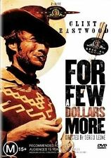 FOR A FEW DOLLARS MORE DVD R4 Clint Eastwood - New - 2 disc Special Edition