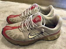 Nike Air Max 360 Retro 2006 Running Shoes Multi Red Grey Athletic Mens 10.5