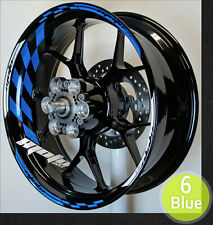 wheel rim stripes decals graphics tape Yamaha R1 R6 FZ 09 07 10 YZF R3 all years