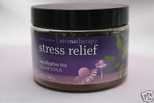 1 BATH & BODY WORKS EUCALYPTUS TEA STRESS RELIEF SUGAR SCRUB AROMATHERAPY