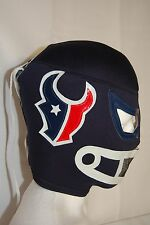 HOUSTON TEXANS! WRESTLING/LUCHADOR MASK! AWESOME! GREAT FOR DIE HARD TEXANS FANS