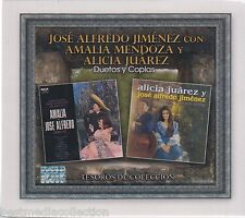SEALED 3 CD's Jose Alfredo Jimenez y Amalia Mendoza CD Tesoros De Coleccion NEW