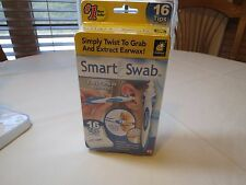 Smart Swab 16 tips Easy Earwax removal kit as seen on TV TWIST extract case NEW