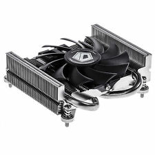 TDP 75W for ITX and HTPC systems Low-Profile CPU Cooler 2 Heatpipe with Intel