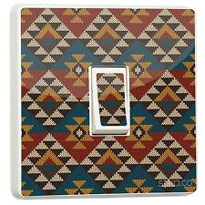 Tribal Aztec Pattern Light Switch Sticker vinyl skin cover [Generic Single]