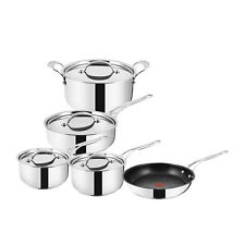 NEW Jamie Oliver Stainless Steel Copper Professional Series 5pc Cookware Set (RR
