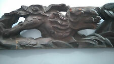19TH Century Chinese scenery wood carving