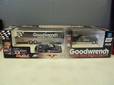 #3 DALE EARNHARDT 1993 GM GOODWRENCH STOCK CAR,CREW CAB DUALLY,& SHOW TRAILER