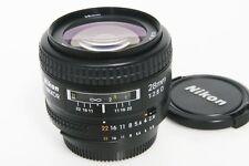 Nikon AF Nikkor 28mm f2.8 D lens,  mint-