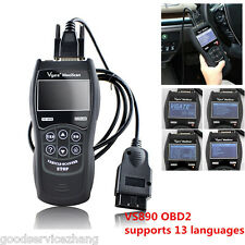 VS890 OBD2 Diagnostics CAN BUS Code Scanner Fault Code Reader Multi-language