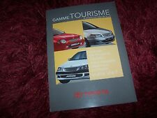 Catalogue / Brochure TOYOTA Gamme / Full line 1999 (sept 1998)