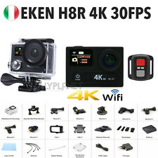 H8R EKEN 4K 30fps SPORT ACTION CAMERA TELECOMANDO ULTRA HD SONY WIFI 12MP GO PRO