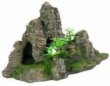 Rock Formation Cave Aquarium Decoration 22cm Ornament Fish Tank Decorative