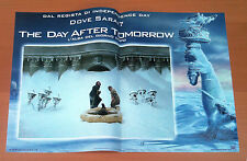 THE DAY AFTER TOMORROW fotobusta poster lobby card affiche Quaid Emmerich 2004