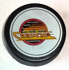 Vintage NHL Hockey Viceroy Puck Vancouver Canucks