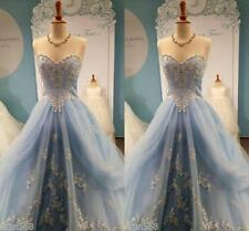 Gorgeous Princess Cinderella Wedding Dress Applique FairyTale Puffy Bridal Gowns