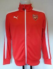 ARSENAL RED T7 ANTHEM JACKET BY PUMA ADULTS SIZE MEDIUM BRAND NEW WITH TAGS