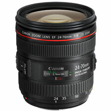 NEW Canon EF 24-70mm f/4L IS USM Lens UK DISPATCH
