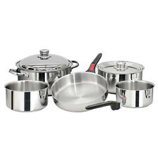 Magma Gourmet Nesting 10 Piece SS Stainless Steel Cookware Set - RV/Boat A10360L