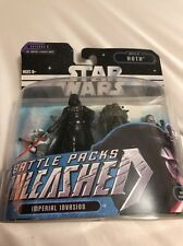 Star Wars Battle Packs Unleashed 2006 Darth Vader Battle Of Hoth Episode 5