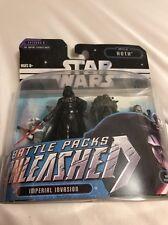 Star Wars Battle Packs Unleashed 2006 Darth Vader Battle Of Hoth Episode 5