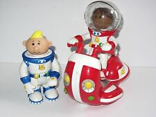 "Talking Lunar Jim & Ripple with Moon Scooter   5"" Toy Figure Set"