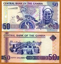 Gambia, 50 Dalasis, 2013 Issue, P-New, UNC