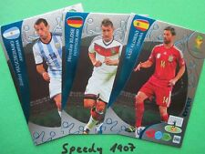 FIFA World Cup Brasil 2014 alle 9 Expert Experts all WM Panini Adrenalyn