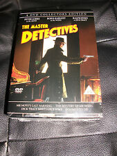 The Master Detectives – 4 DVD Collectors Edition - Brand New Sealed - Dick Tracy