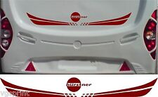 BURSTNER CARAVAN/MOTORHOME 2 PIECE KIT DECALS STICKER CHOICE OF COLOUR & SIZE