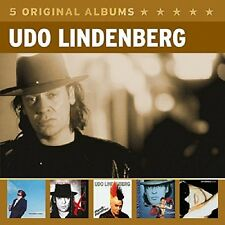 UDO LINDENBERG - 5 ORIGINAL ALBUMS (VOL.3) 5 CD NEU