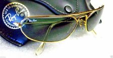 "RAY-BAN *NOS VINTAGE B&L AVIATOR HI-TECH ""FUGITIVE"" W1959 24k GP *NEW SUNGLASSES"